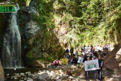 Foto di gruppo cascata campanaro