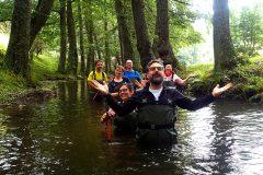 water trekking in Sila