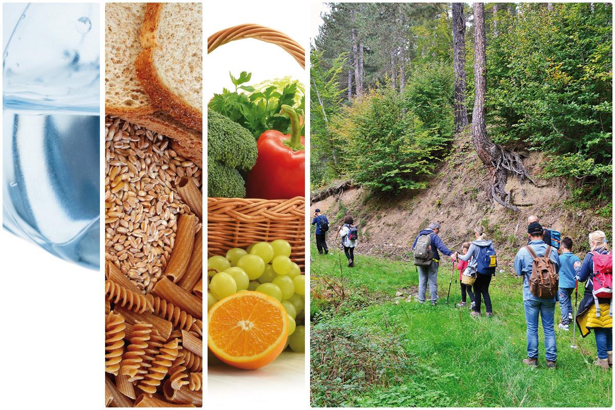 L'alimentazione corretta per affrontare un'escursione in montagna