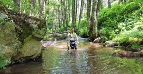 Water-trekking