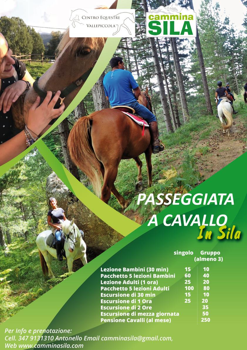 Prenota la tua Passeggiata a cavallo in Sila