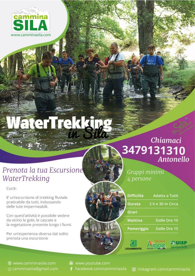 Water-trekking in Sila