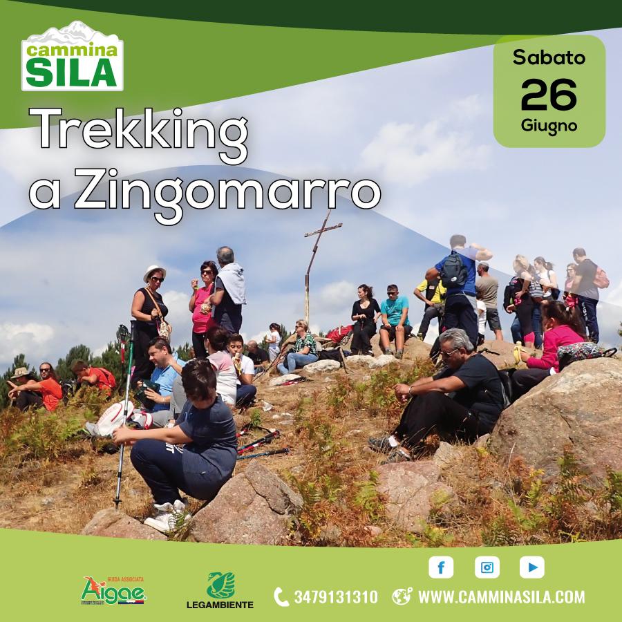 Trekking a Zingomarro Sabato 26 Giugno