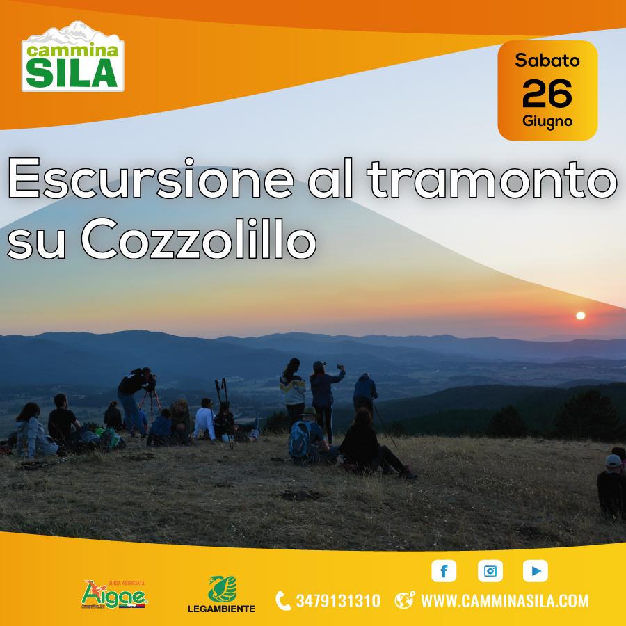 Trekking al Tramonto su monte Cozzolillo Sabato 26 Giugno