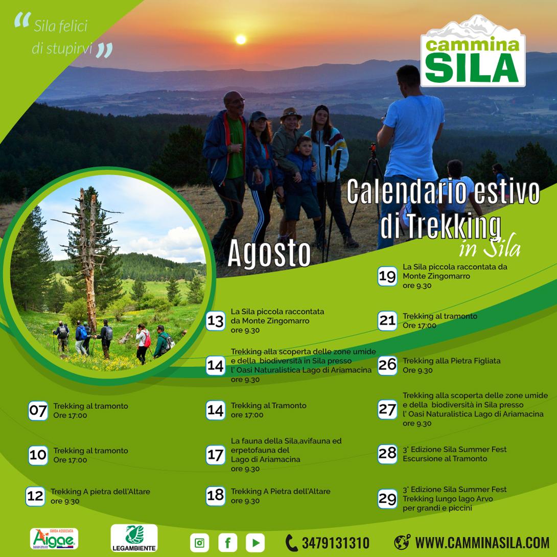 """Calendario escursioni estive """"clicca sull'immagine per vedere gli eventi con le informazioni"""""""