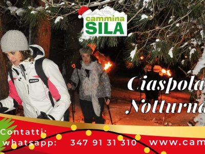Domenica 02 Gennaio Ciaspolata Notturna in Sila