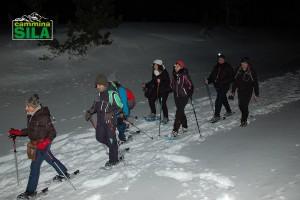 Ciapolata notturna sul sentiero di Marinella di Coppo